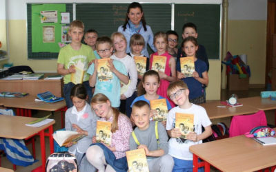 Author's Morning at the STO Primary School in Szczecin