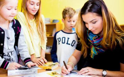 Spotkanie wSzkole Montessori wBydgoszczy