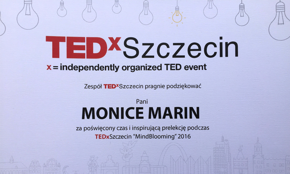 "TEDx Szczecin 2016 ""Mind Blooming"""