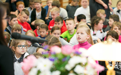 A meeting at Primary School No. 5, Szczecin