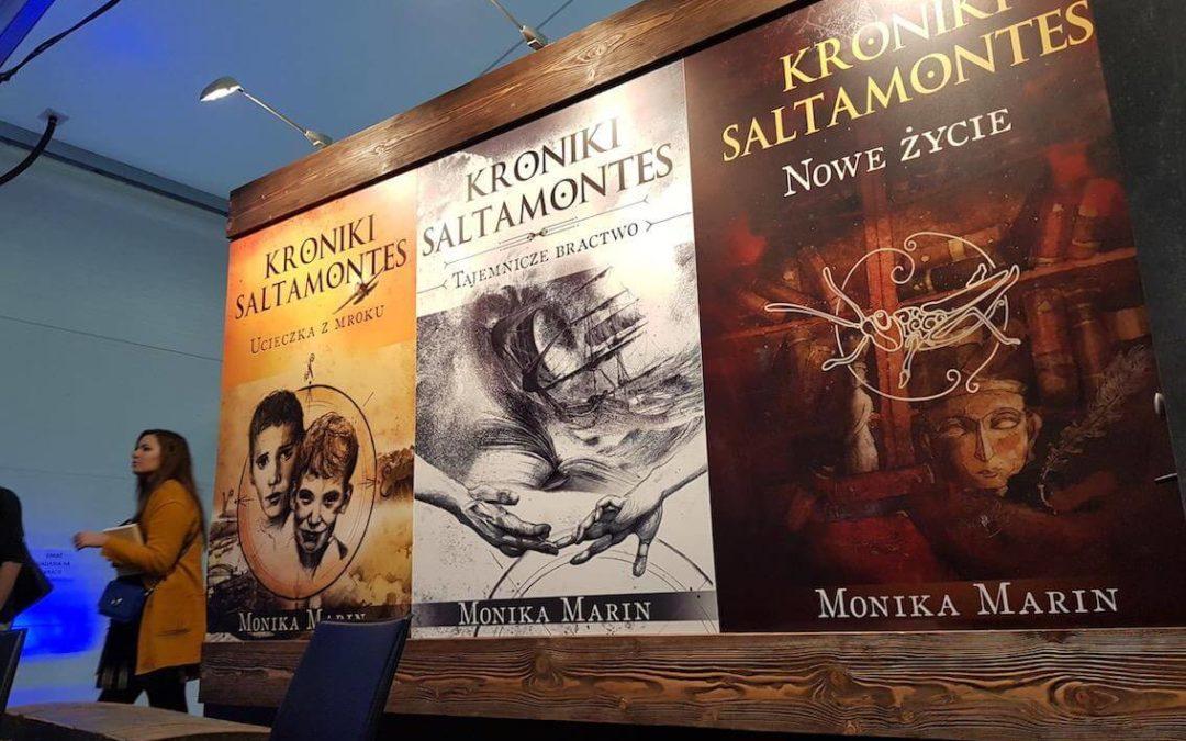 """""""Kroniki Saltamontes"""" – 22 Międzynarodowe Targi książki wKrakowie"""