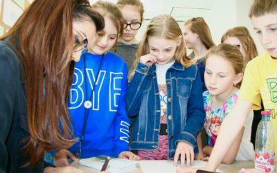 Meeting at Primary School No.59 in Szczecin