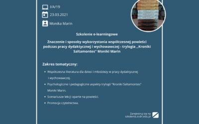 The Saltamontes Chronicles – training session for teachers, counsellors and librarians