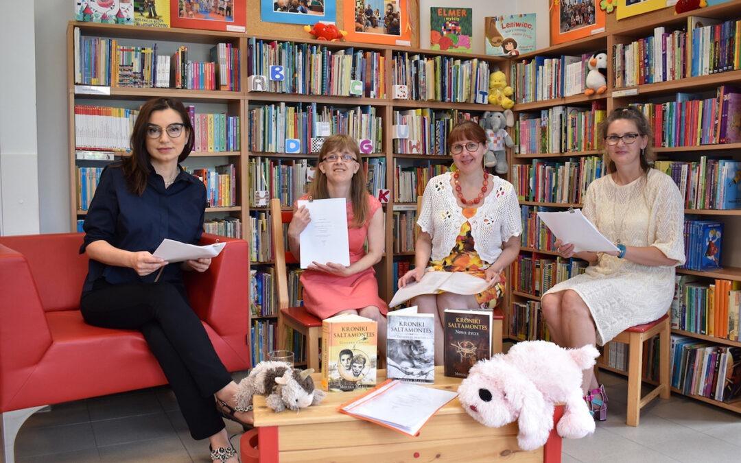Spotkanie wbibliotece Filia Nova